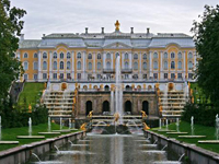 Peterhof and visit to the Grand Palace and parks at Peterhof