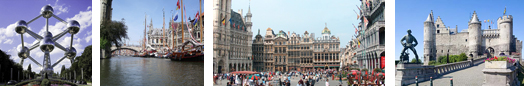 Luxury hotels, group accommodation in Belgium