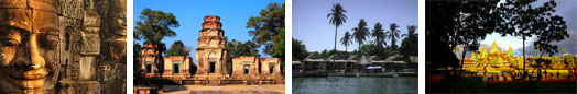 Luxury hotels, group accommodation in Cambodia
