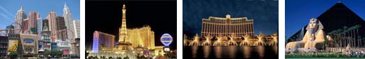 Luxury hotels, group accommodation in Las Vegas