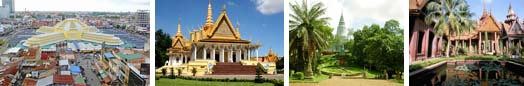 Luxury hotels, group accommodation in Phnom Penh