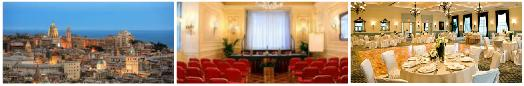 Accommodation for group travel, meetings in Genoa